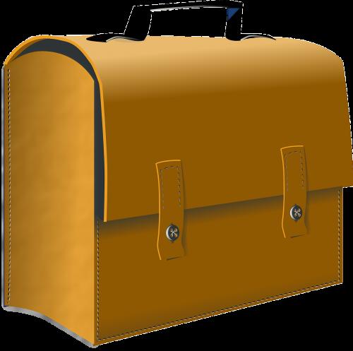 suitcase leather case
