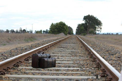 suitcase cases train