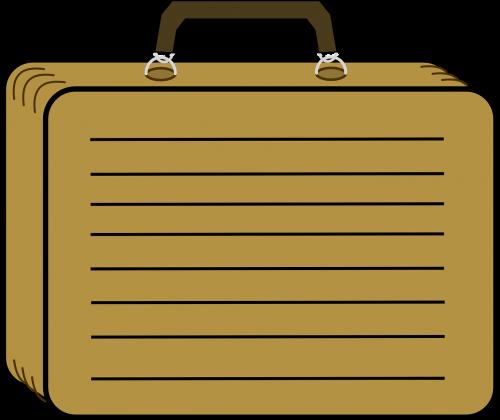 suitcase travel baggage