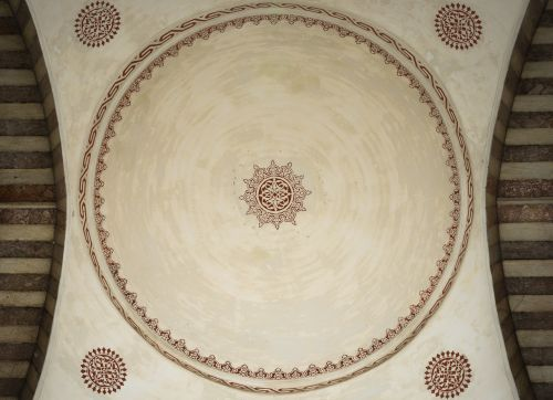 suleymaniye mosque istanbul light