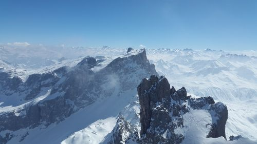 sulzfluh drusenfluh alpine