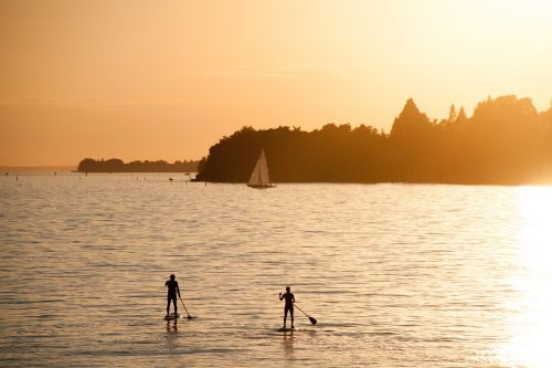 summer summer holiday stand paddle