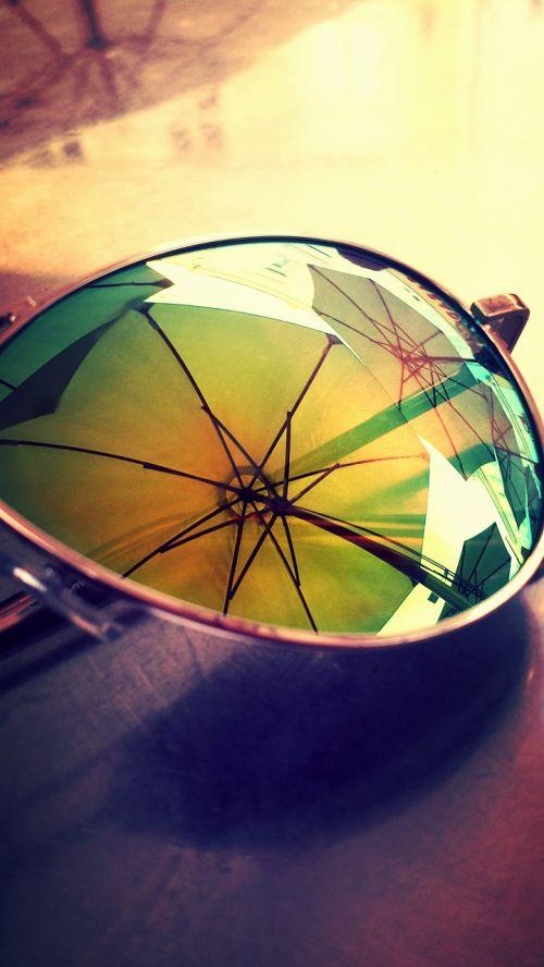 summer sunglasses parasol