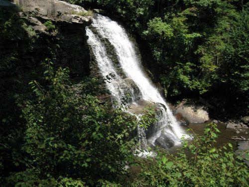 summer waterfall maryland