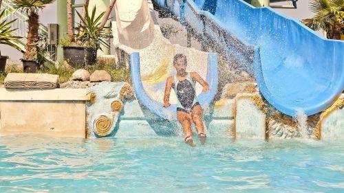 summer pool water