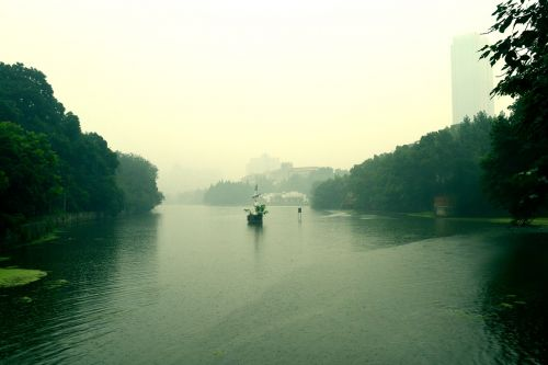 summer anhui hefei amidst the hazy