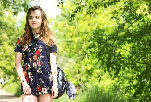 summer emotions girl