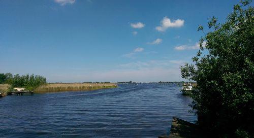 summer lake east frisia