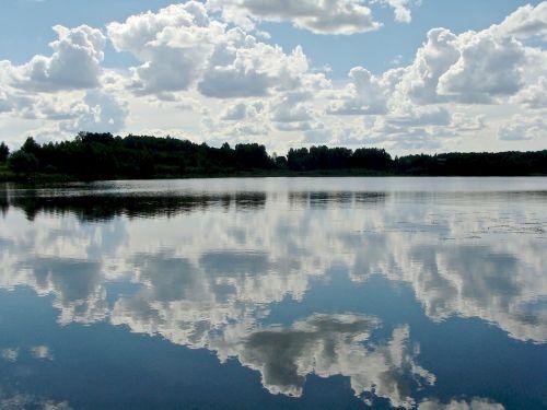 summer lake water