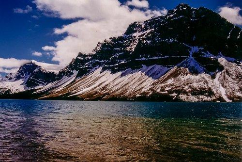 summer  snow  mountain