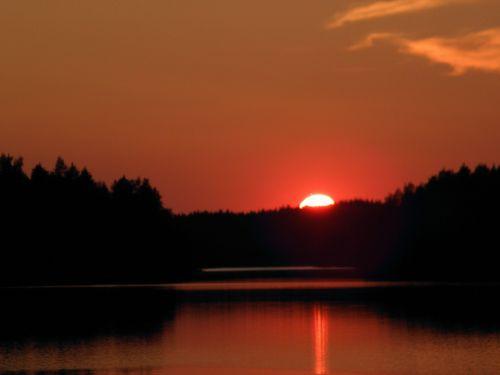 summer venettely sunset