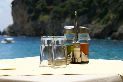 summer beach oil