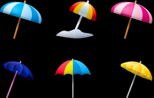 summer umbrella  sea  ocean