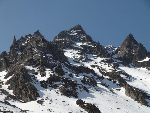 summit mountains alps