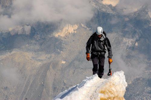 summit climb climbing