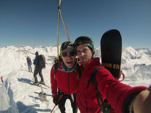 summit mountain snow