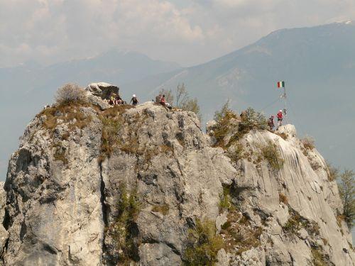 summit mountain rock