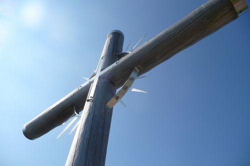 summit cross cross wooden cross