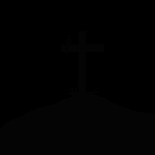 summit cross silhouette summit