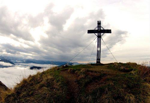 summit cross mountain summit summit