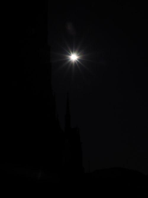 sun solar eclipse darkness