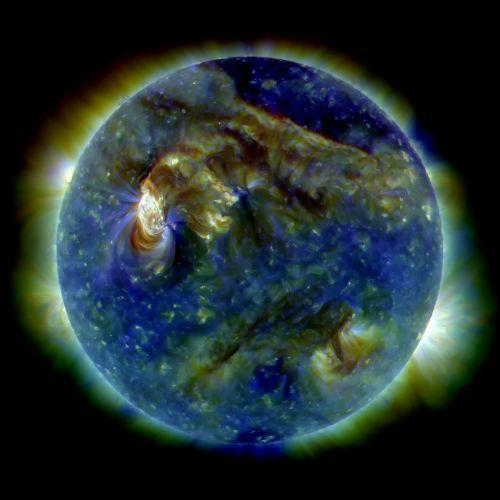 sun solar flare uv