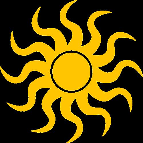 sun icon weather