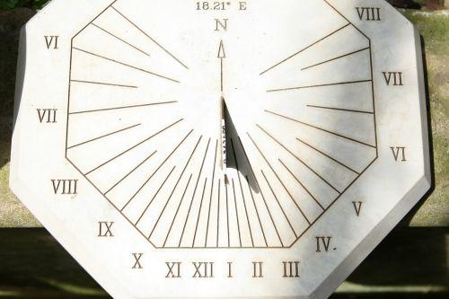 sun dial sundial