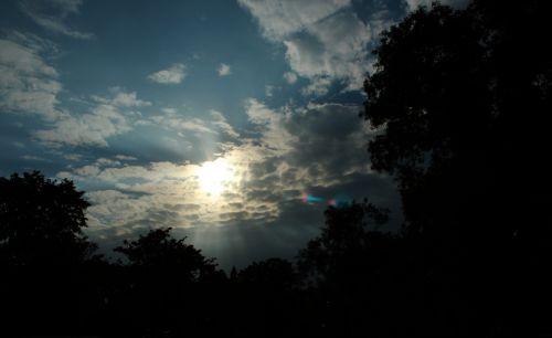 saulė, saulė ir nbsp, spinduliai, saulės šviesa, saulės šviesa, rytas saulė, šviesus, gamta, debesys, dangus, saulė