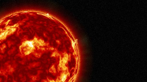 sun solar flare solar