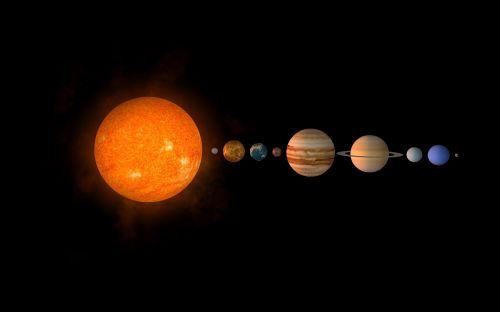 sun planet solar system