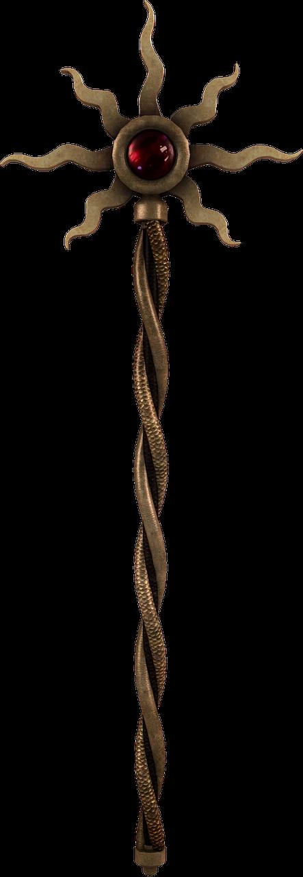 sun wand scepter