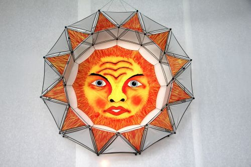 sun dragons orange