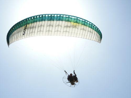 sun paraglider paragliding