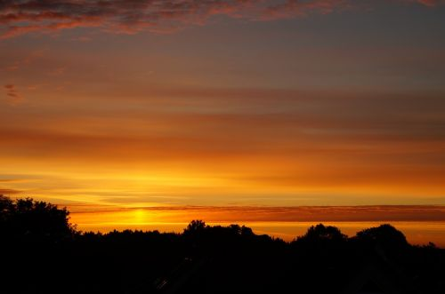 sun sunrise skies