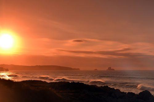sun color filters sunset