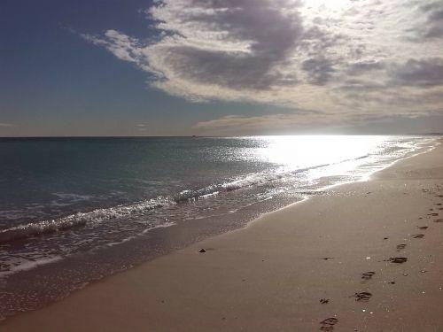 sun beach sea