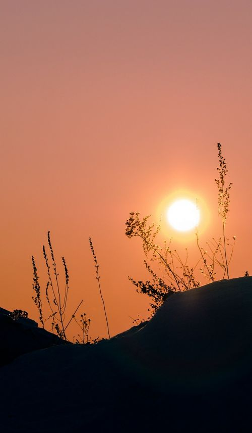 sun siberia winter