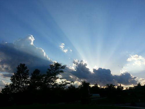 sun rays inspiration