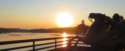 sun sunrise reiter