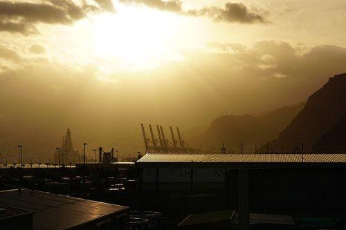 sun  smog  industry