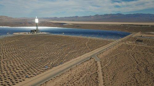 sun  solar energy  solar power plant