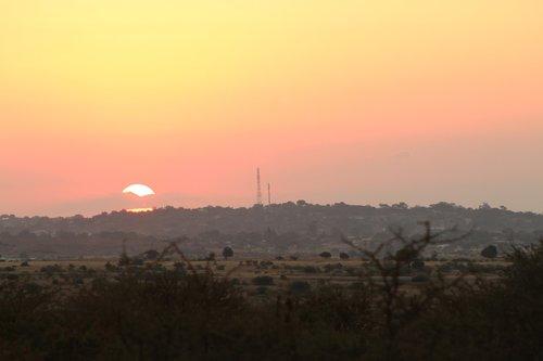 sun  sun set  sky
