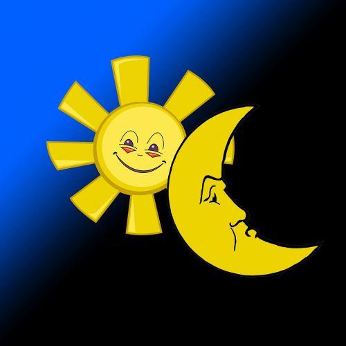 sun moon day