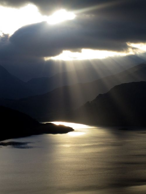 sun cloud cumbria