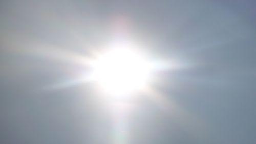 sun sky rays