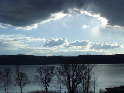 sun clouds mood