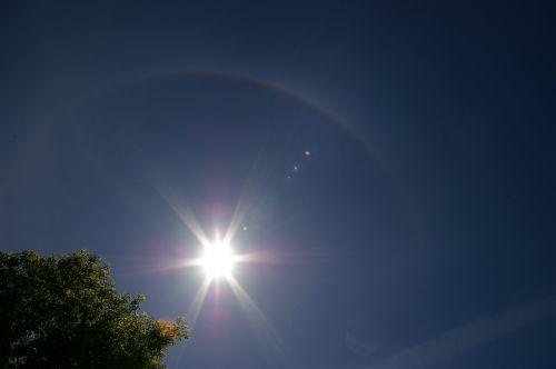 sun halo rainbow