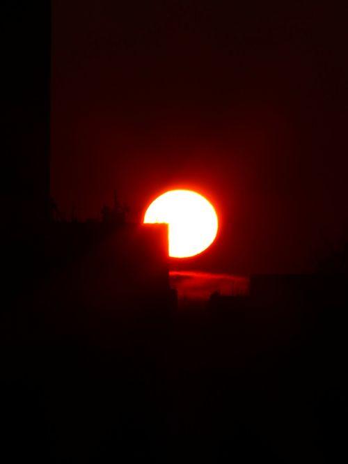 sun solar disk fireball
