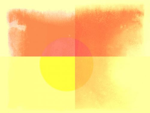 Sun Ball Aquarelle